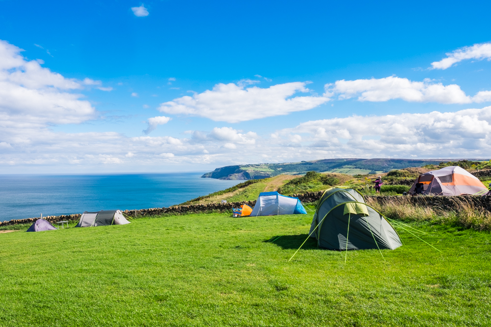 Bayness Farm Campsite, Robin Hoods Bay, North Yorkshire
